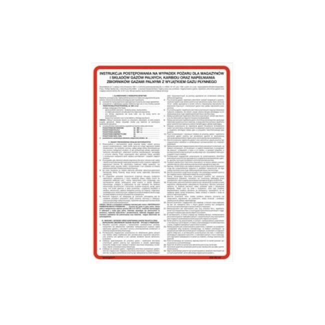 Instrukcja postępowania na wypadek pożaru dla budynków mieszkalnych wielorodzinnych (222 XO-03)