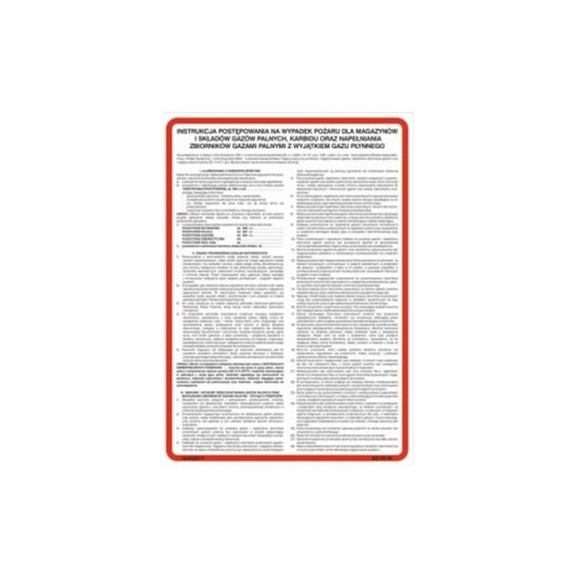 Instrukcja przeciwpożarowa ogólna dla szkół, internatów, przedszkoli, domów dziecka (222 XO-18)