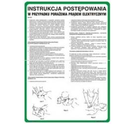 Instrukcja ratowania osób porażonych prądem (422 XO-27)