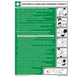 Instrukcja abc pierwszej pomocy (obrazkowo-tekstowa) (422 XO-62)