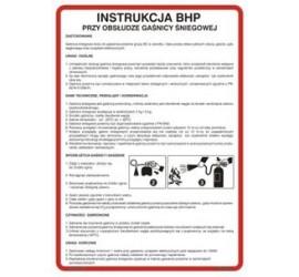 Instrukcja obsługi gaśnicy śniegowej (422 XO-24)