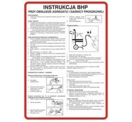 Instrukcja obsługi gaśnicy proszkowej (422 XO-25)
