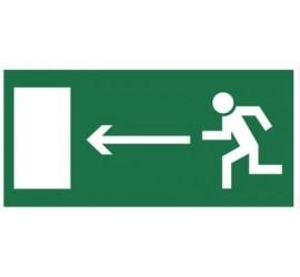 Znak kierunek do wyjścia...