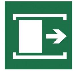 Znak przesunąć w celu otwarcia (116)