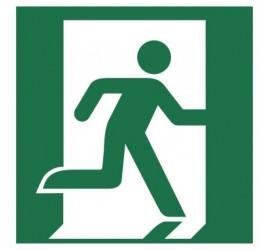 Znak wyjście ewakuacyjne (prawostronne) (E02)