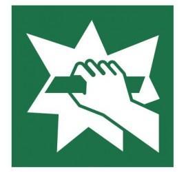 Znak stłuc aby uzyskać dostęp (E08)