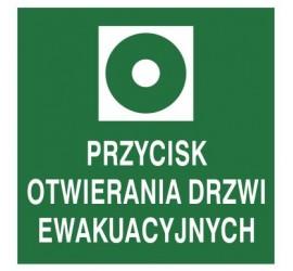 Znak przycisk otwierania drzwi ewakuacyjnych (104-03)