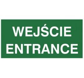Znak wejście ENTRANCE (816-06)