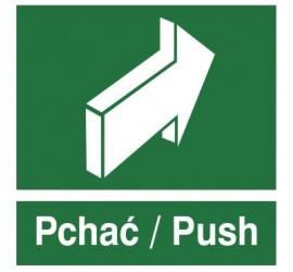 Znak pchać - push (817-03)