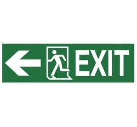 Znak EXIT, w lewo (987-01)