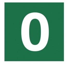Znak stacja ewakuacyjna nr 0 (120-13)