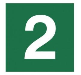 Znak stacja ewakuacyjna nr 2 (120-15)
