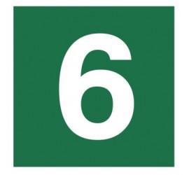 Znak stacja ewakuacyjna nr 6 (120-19)