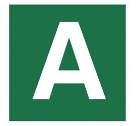 Znak stacja ewakuacyjna nr A (120-23)