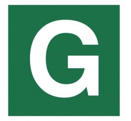 Znak stacja ewakuacyjna nr G (120-29)