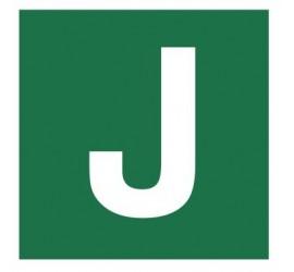 Znak stacja ewakuacyjna nr J (120-32)