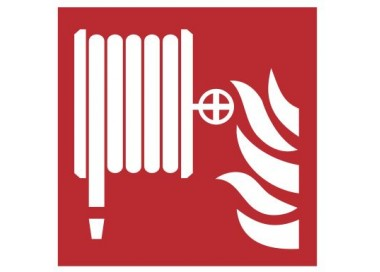 Znak hydrant wewnętrzny PN-EN ISO 7010 (F02)