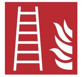 Znak drabina pożarowa PN-EN ISO 7010 (F03)