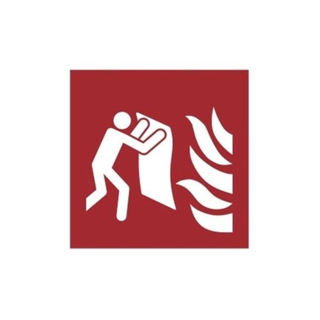 Znak koc gaśniczy wg PN-EN ISO 7010 (F16)