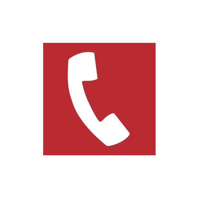 Znak telefon do użycia w stanie zagrożenia (205)
