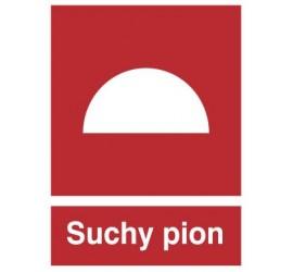 Znak suchy pion (218)