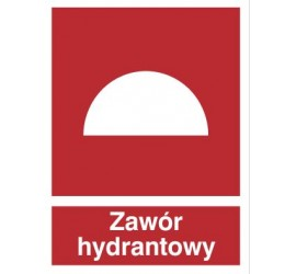Znak zawór hydrantowy (229-02)