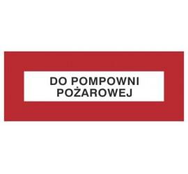 Znak do pompowni pożarowej (231-16)