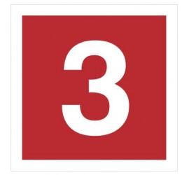Znak cyfra 3 (808-11)