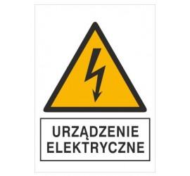 Znak urządzenie elektryczne...