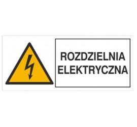 Znak rozdzielnia elektryczna (330-20)