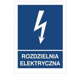 Znak rozdzielnia elektryczna (530-26)