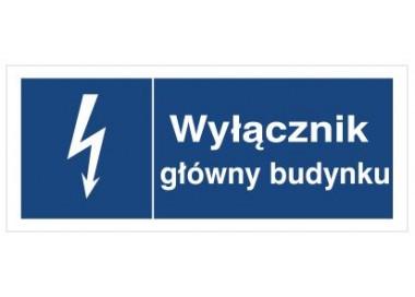 Znak wyłącznik główny budynku (530-04)