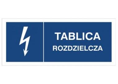 Znak tablica rozdzielcza (530-28)