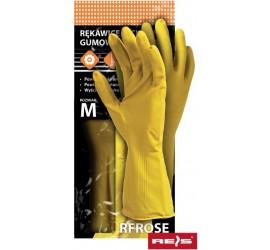Rękawice ochronne gumowe Reis RFROSE