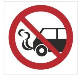 Znak nie zostawiać włączonych silników spalinowych (bez opisu) (646)