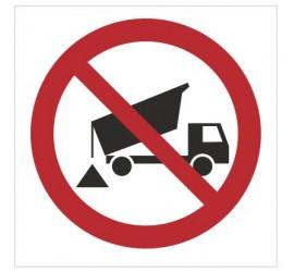 Znak zakaz wysypywania (bez opisu) (649)
