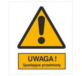 Znak ostrzeżenie przed spadającymi przedmiotami (301-12)