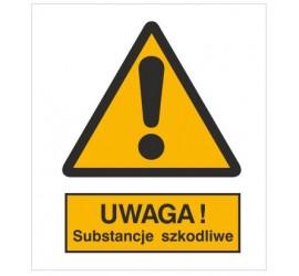 Znak ostrzeżenie przed substancjami szkodliwymi (301-06)