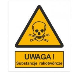 Znak ostrzeżenie przed substancjami rakotwórczymi (302-01)