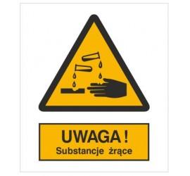 Znak ostrzeżenie przed...