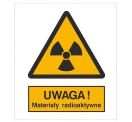 Znak ostrzeżenie przed materiałami radioaktywnymi (304)