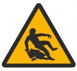 Znak ostrzeżenie przed śliską nawierzchnią (314)