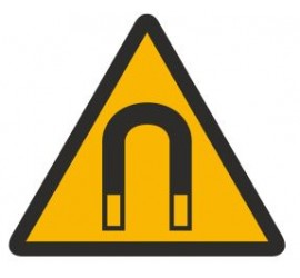 Znak ostrzeżenie przed silnym polem magnetycznym (315)