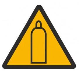Znak ostrzeżenie przed gazami technicznymi (321)