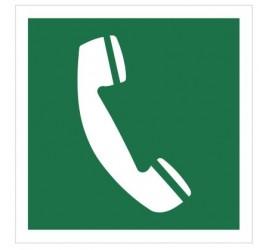 Znak telefon awaryjny (506)