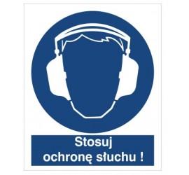 Znak nakaz stosowania ochrony słuchu (404)