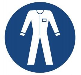 Znak nakaz stosowania odzieży ochronnej (416)