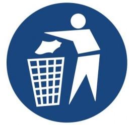 Znak zachowaj czystość (417)