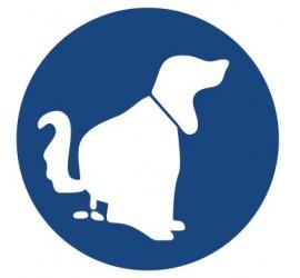 Znak nakaz sprzątnięcia po psie (426)
