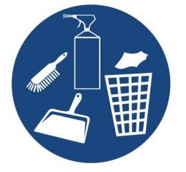 Znak dbaj o czystość i porządek (433)